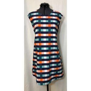 Kate Spade ♠️ Saturday Checkered Tie Back Dress